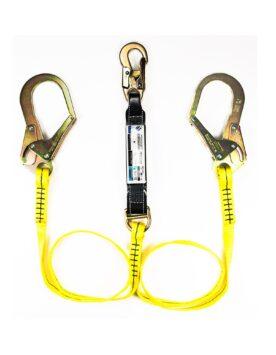FE16603401-Amortiguador-Con-Cinta-28mm-tipo-Y-Mosqueton-escala-sumichile-suministro-venta-herramientas-seguridad-industrial-lubricantes-maquinarias-chile-latam